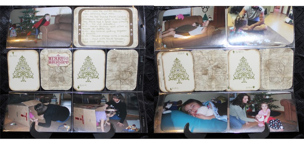 Stamping in your Scrapbooks