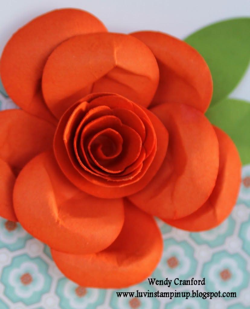 Rose Punch Art Tutorial