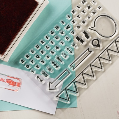 SAY WHAT? Stampin Up has Photopolymer Stamps!