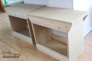 Craft room benches luvin stampin for Stampin pretty craft room