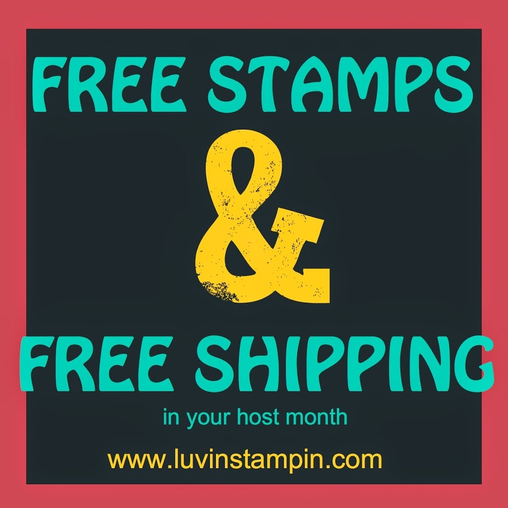 stampin up stamp club free shipping and free products