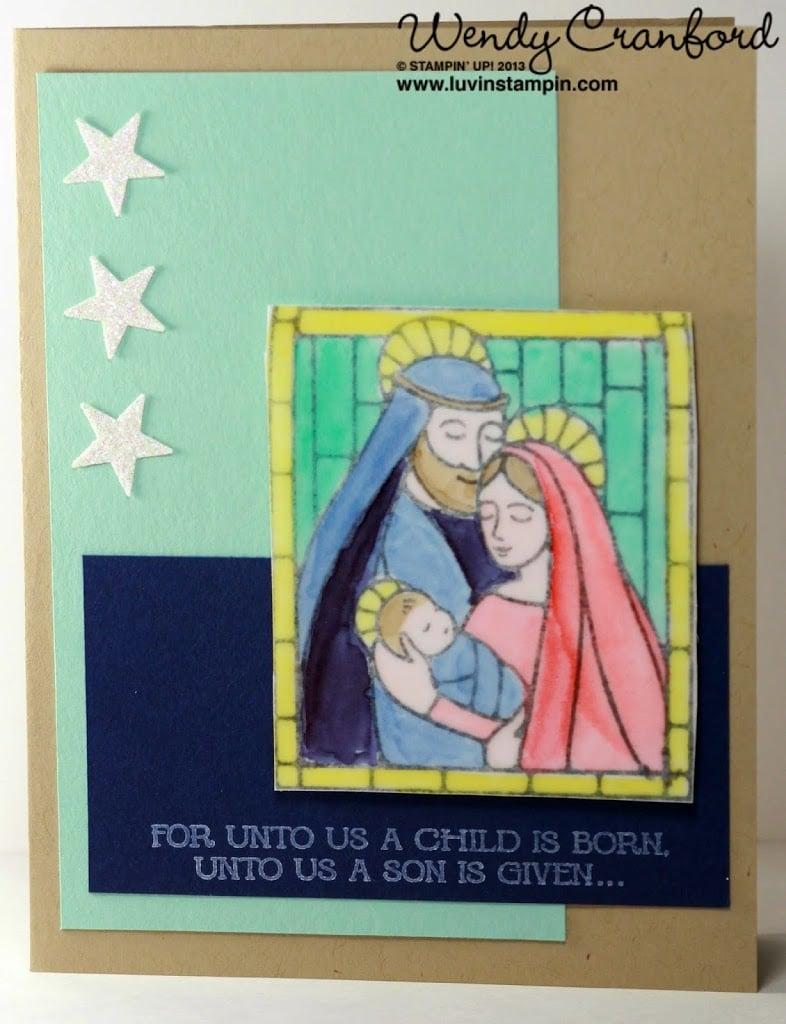 gentle peace christmas card creative challenge club ccc20