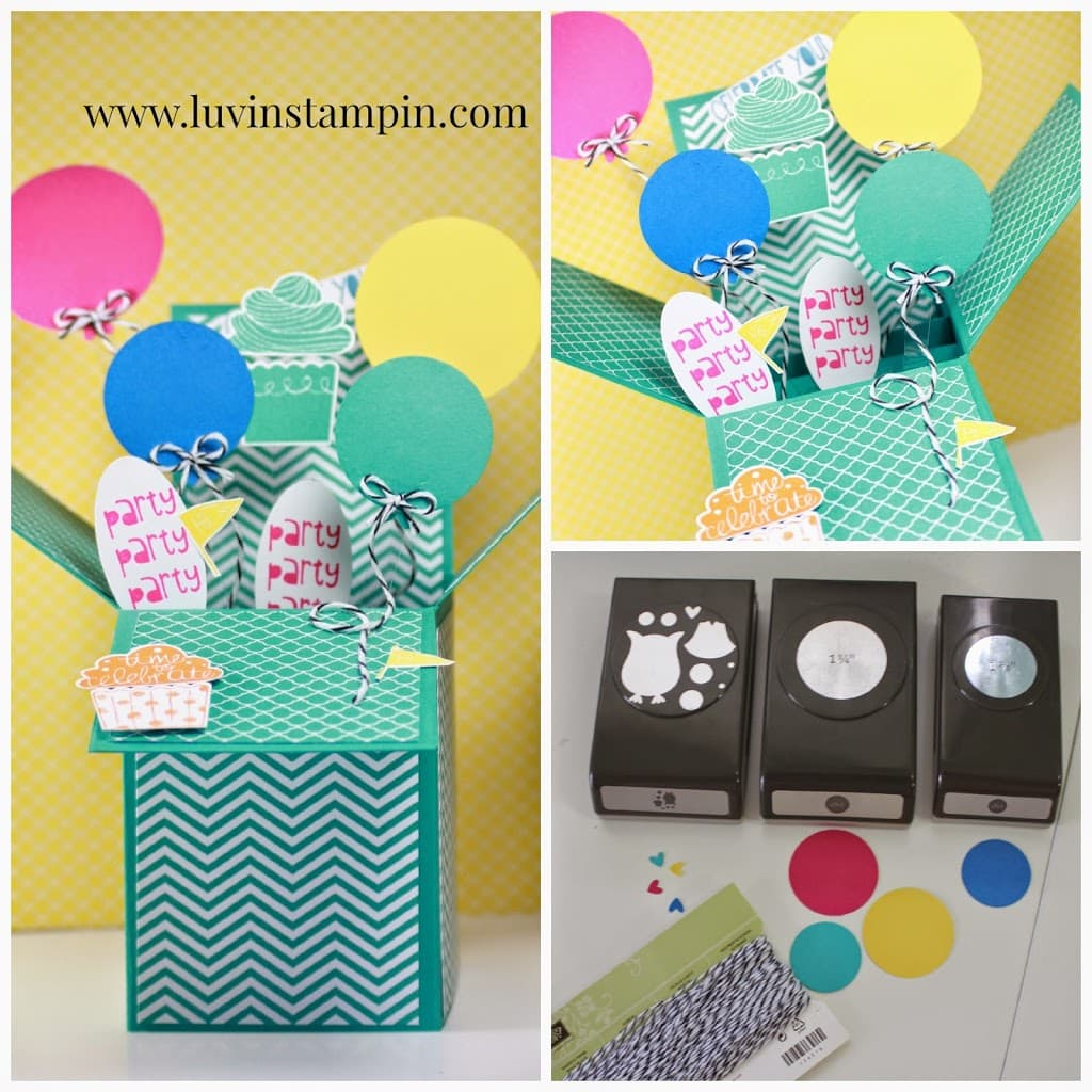 3D Pop Up Box card tutorial free