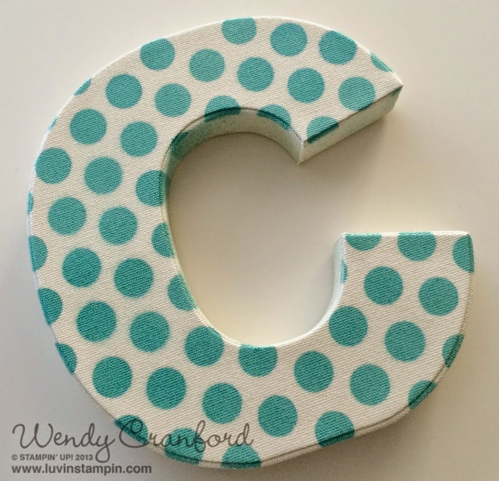 home decor letter for under 13 wowza 20 luvin stampin