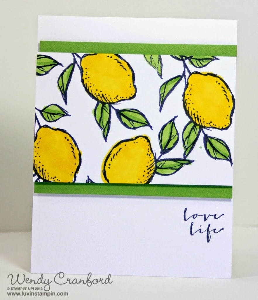 When Life Gives You Lemons Luvin Stampin
