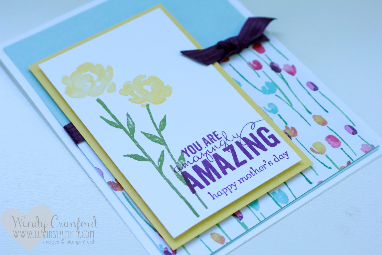 petite petals mothers day card