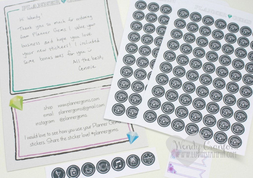 Planner Gems Stickers Planner Review