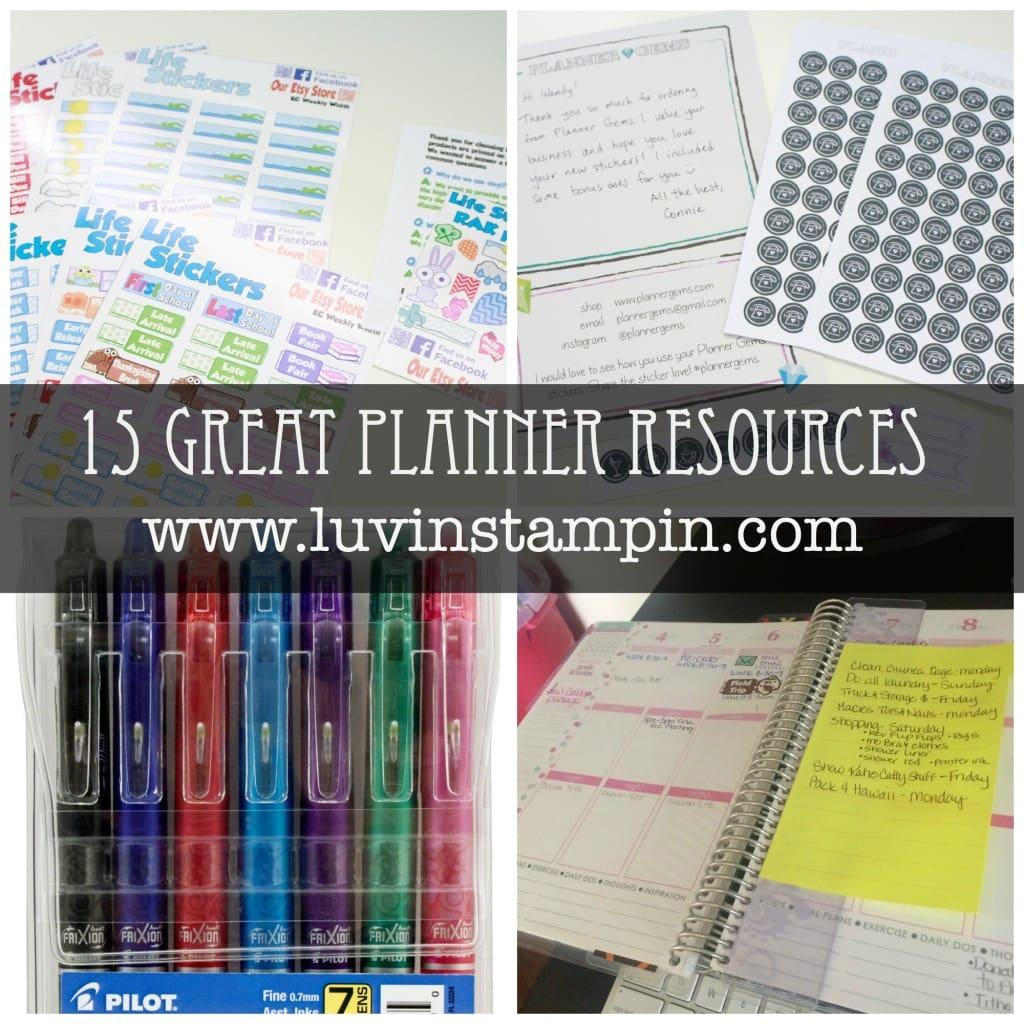 planner collage