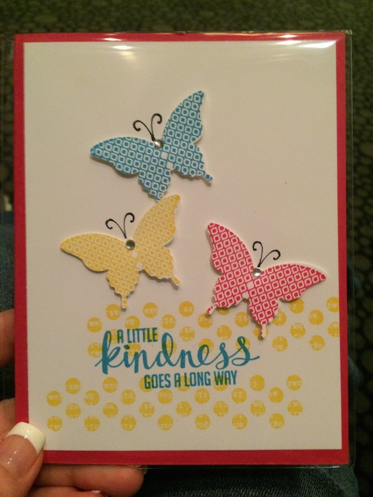 stampin up convention swaps 2015
