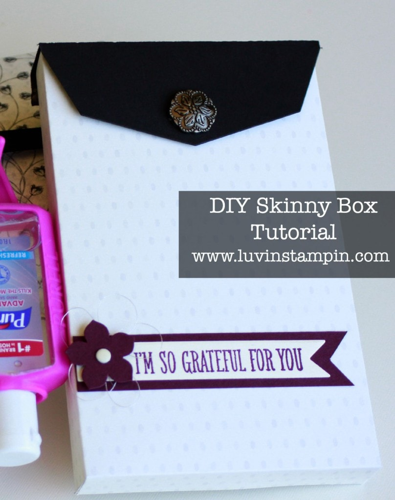 skinny box tutorial