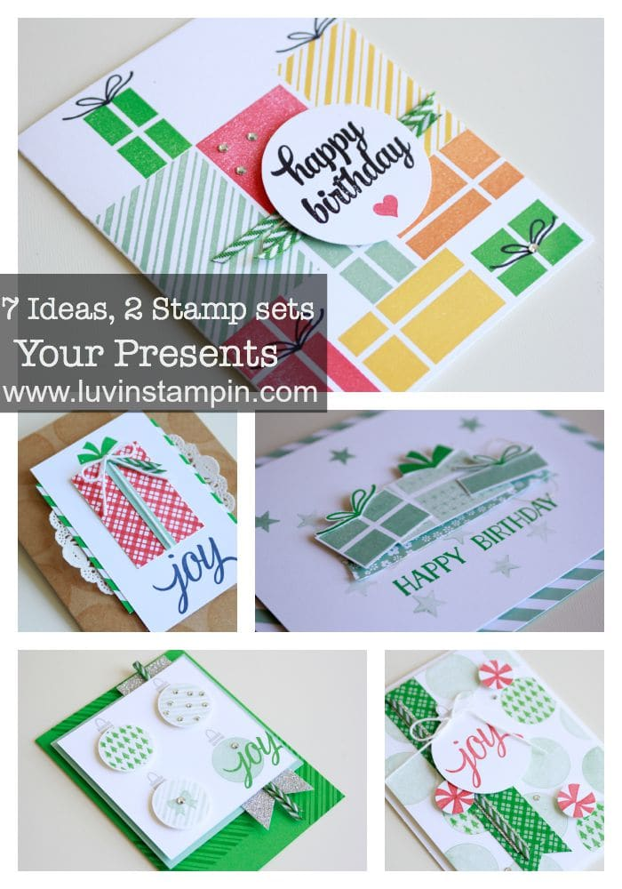 your presents ideas stampin up holiday catalog 2015