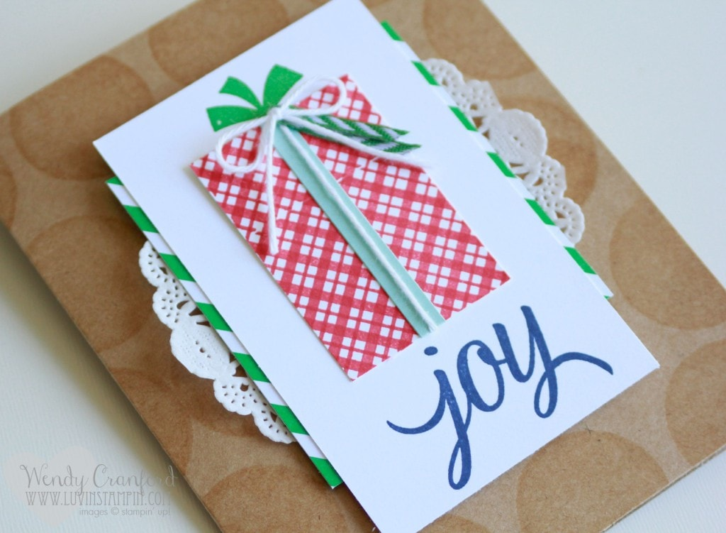 your presents stampin up holiday catalog 2015 joy