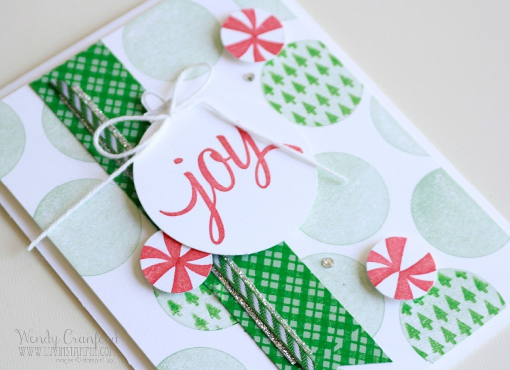 your presents stampin up holiday catalog 2015 peppermint