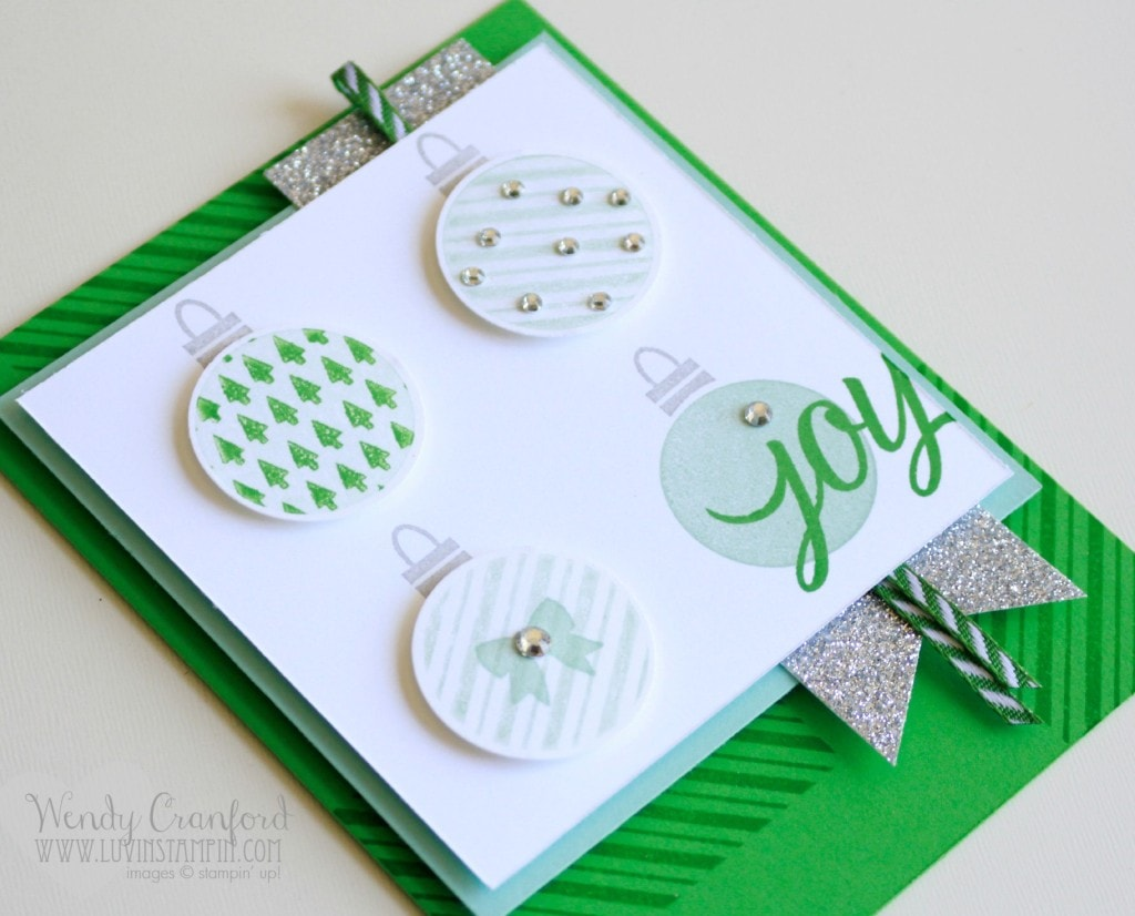 your presents stampin up holiday catalog ornaments