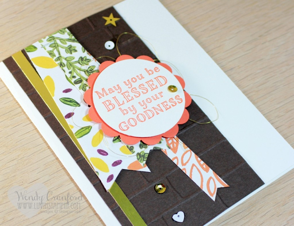 goodness bags tag card