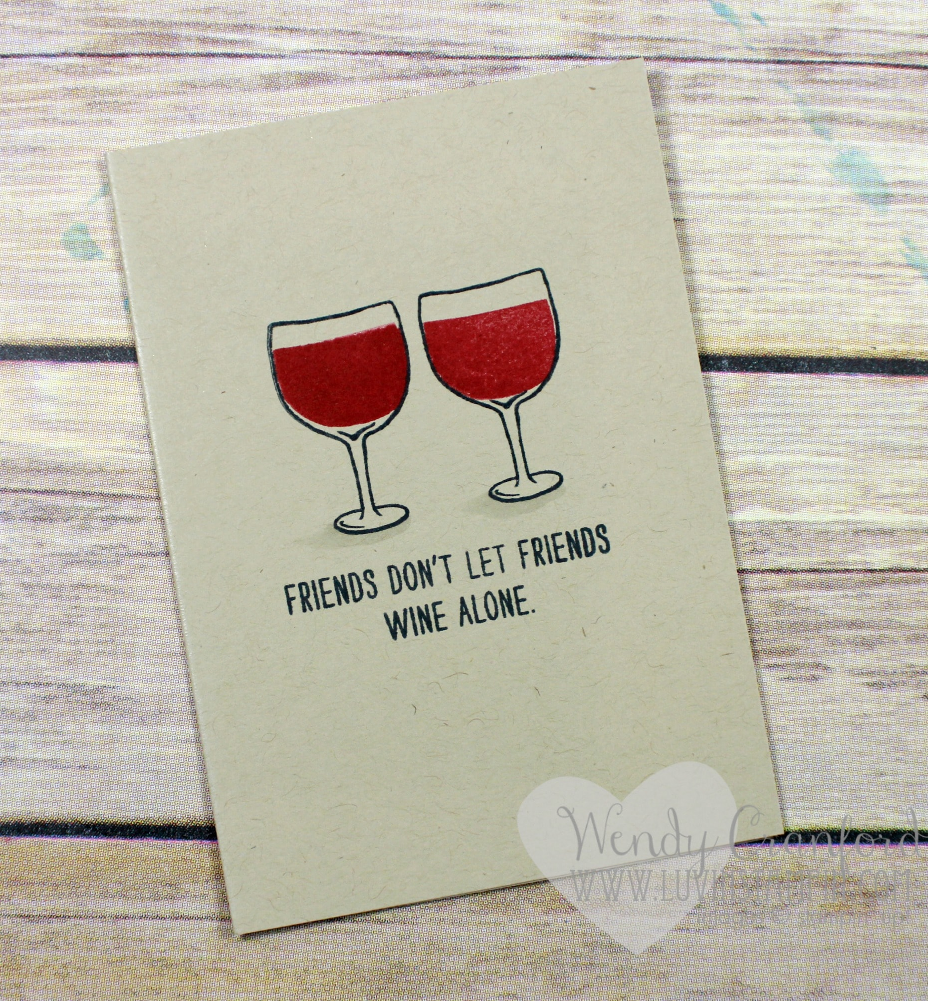 5 card ideas + 1 stamp set featuring the Mixed Drinks stamp set from Stampin' UP! Wendy Cranford www.luvinstampin.com