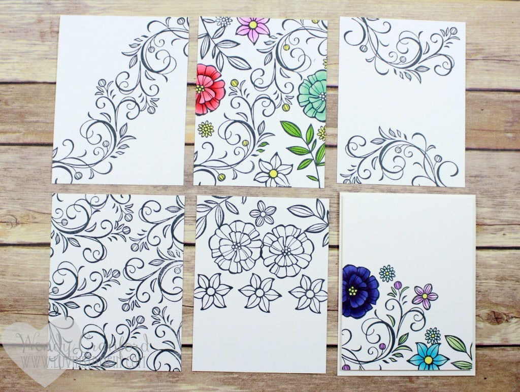 falling flowers examples