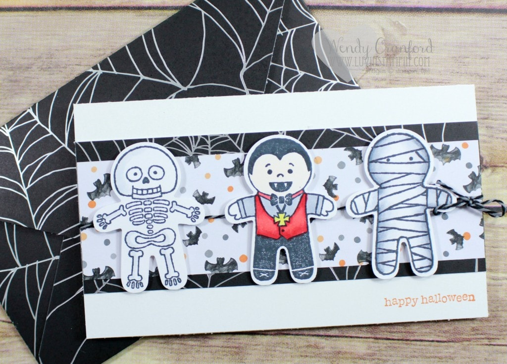 Cookie Cutter Halloween stamp set from the new 2016 Stampin' UP! Holiday Catalog.