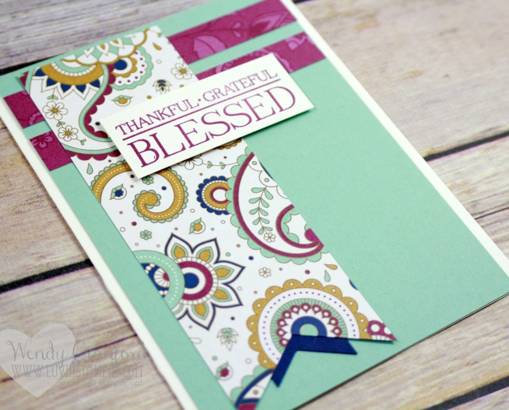October Free Card kits offered. Wendy Cranford www.luvinstampin.com