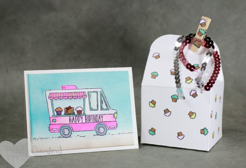 Create fun boxes using the baker thinlits and the tasty truck stamp set Wendy Cranford www.luvinstampin.com
