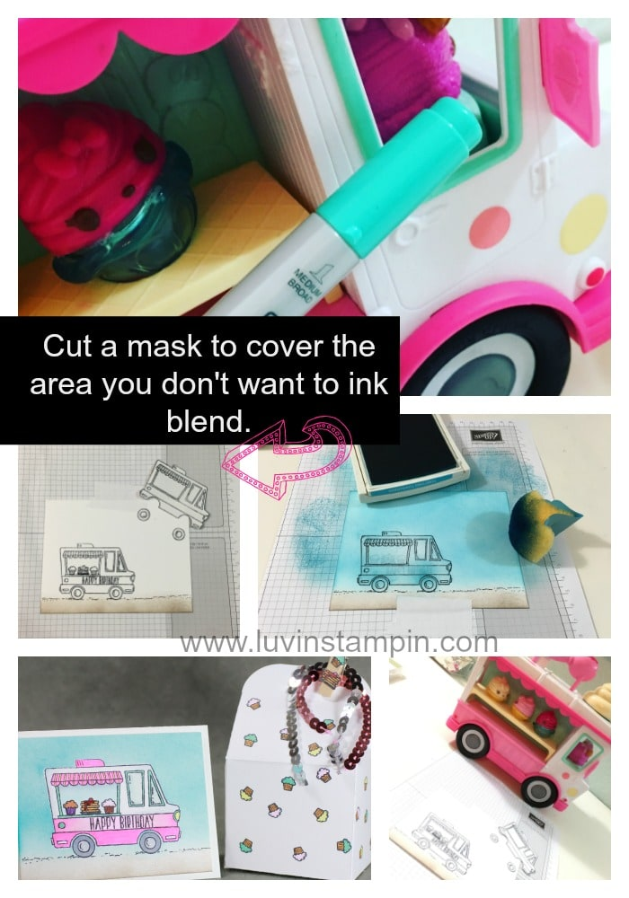 Create fun boxes using the baker thinlits and the tasty truck stamp set Wendy Cranford luvinstampin.com
