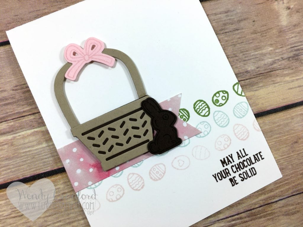 3 simple and quick easter cards to make for your friends and family. Featuring the Basket Bunch Bundle from Stampin' UP! Wendy Cranford www.luvinstampin.com