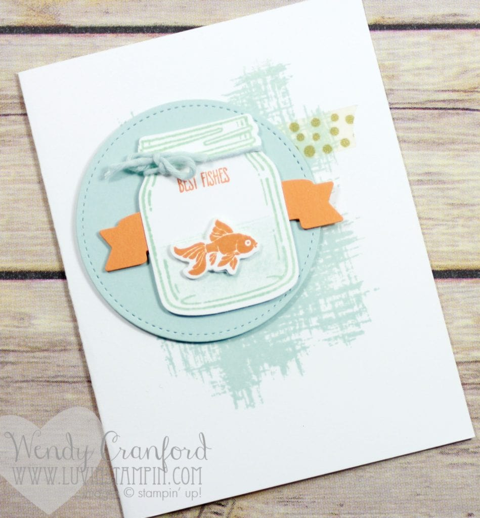 Free card kits when you make a minimum purchase in my online store www.luvinstampin.com