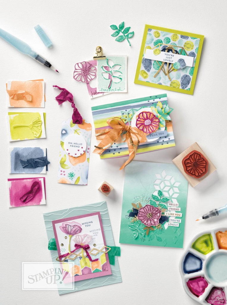 Oh So Eclectic Bundle from Stampin' UP! is extremely versatile. Wendy Cranford www.luvinstampin.com