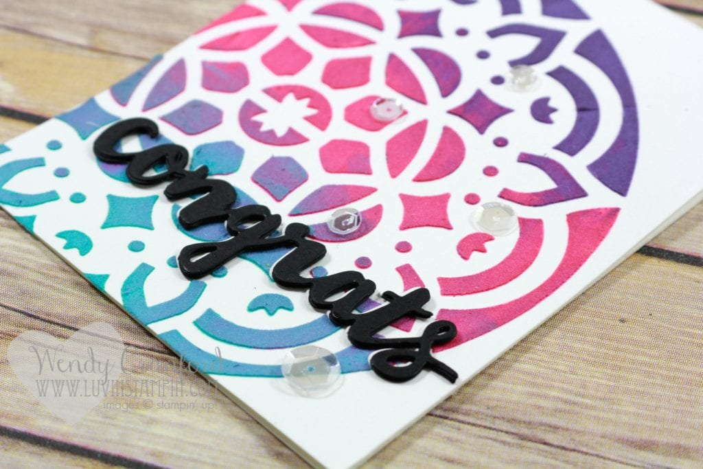 Tips and tricks for using embossing paste for card making. Wendy Cranford luvinstampin.com
