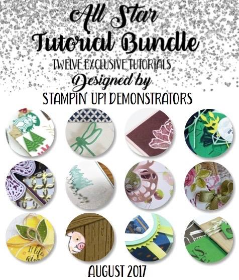 12 free tutorials when you place an order with me using the current host code Wendy Cranford www.luvinstampin.com
