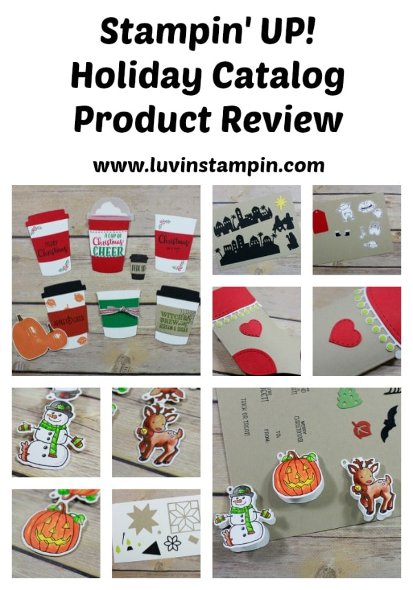Stampin' UP! Holiday Catalog product review www.luvinstampin.com
