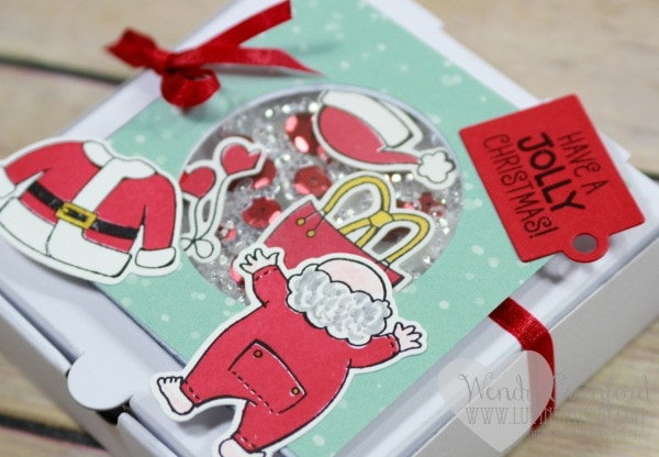 Coloring ideas for Santa Suit stamp set from Stampin' UP! Wendy Cranford luvinstampin.com