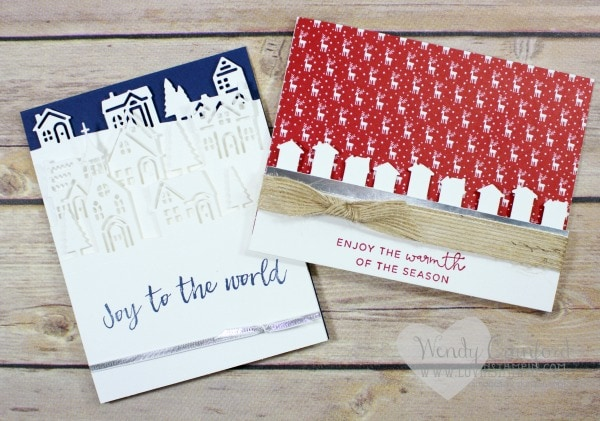 Created some fun cards featuring the Hearts Come Home bundle from Stampin' UP! Wendy Cranford www.luvinstampin.com