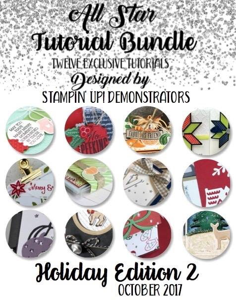 12 Exclusive Tutorials FREE with any purchase from Wendy Cranford www.luvinstampin.com