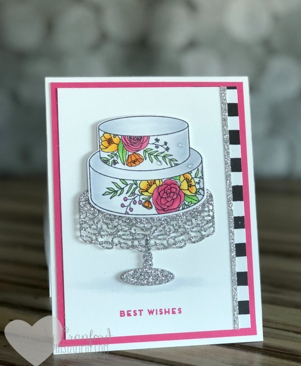 Sneak Peek ideas from the 2018 Occasions Catalog featuring the Cake Soiree Bundle Wendy Cranford www.luvinstampin.com