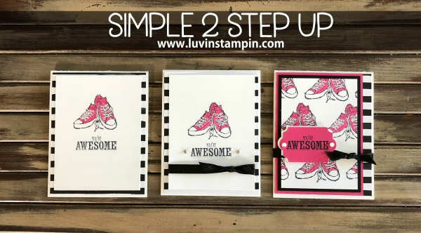 #simple2stepup cards created with the Epic Celebration stamp set from Sale A Bration Wendy Cranford www.luvinstampin.com