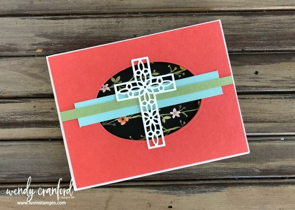 Hold on to Hope stamp set from Stampin' UP!  Creates a great uplifting cards Wendy Cranford www.luvinstampin.com
