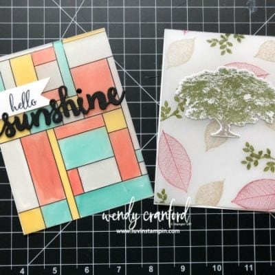 Using Vellum On Your Cards