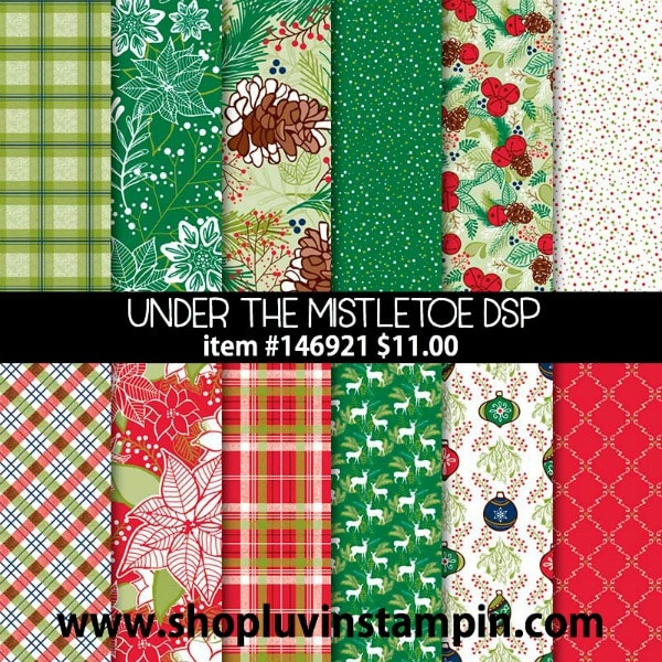 Designer Series Paper Sale from Stampin' UP! Wendy Cranford www.luvinstampin.com