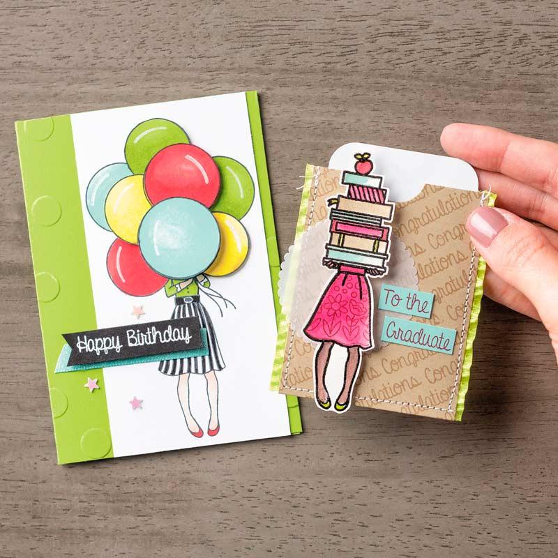 Hand Delivered stamp set samples by Stampin' UP!