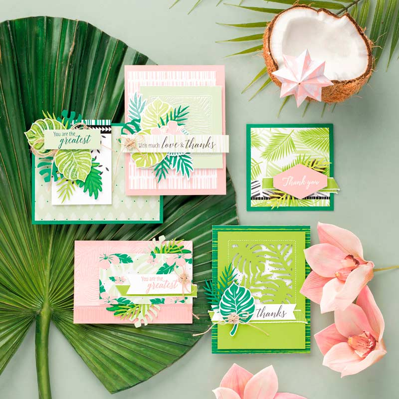 Tropical Chic Bundle from Stampin' UP! Wendy Cranford www.luvinstampin.com