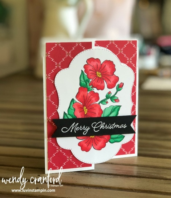 The Blended Seasons Bundle from Stampin' UP! is available Aug 1 - Aug 31 while supplies last Wendy Cranford luvinstampin.com