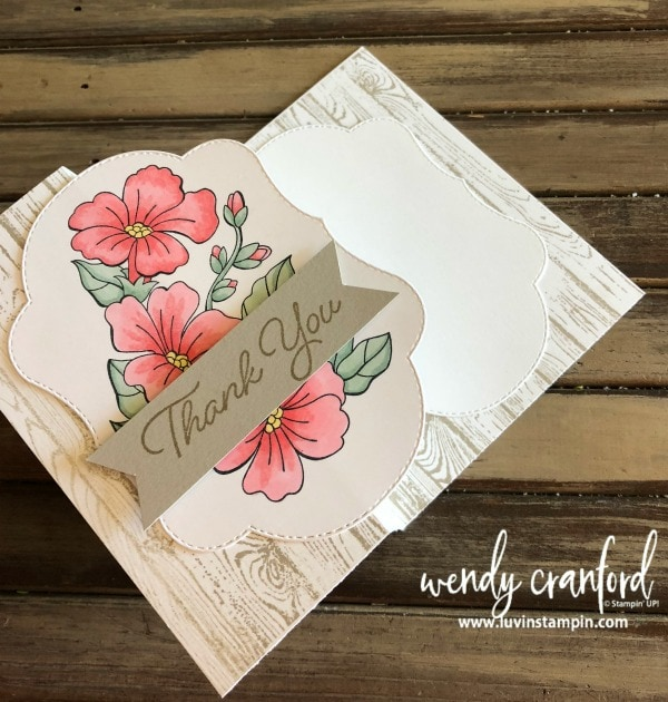 The Blended Seasons Bundle from Stampin' UP! is available Aug 1 - Aug 31 while supplies last Wendy Cranford www.luvinstampin.com