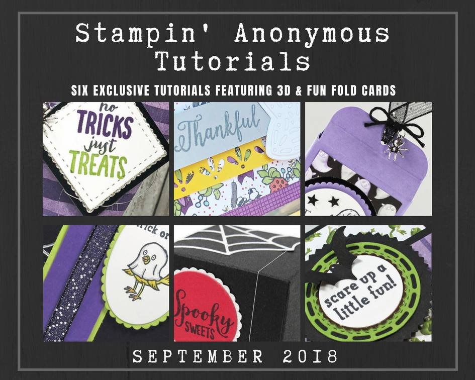 Stampin' Anonymous Tutorials Wendy Cranford luvinstampin.com
