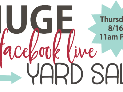 TODAY Facebook Live Yard Sale