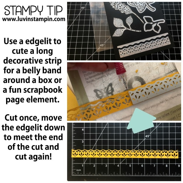 Stamping tips and tricks from Wendy Cranford at www.luvinstampin.com