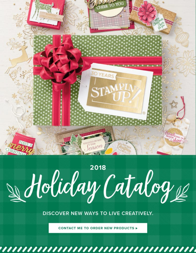 2018 Stampin' UP! Holiday Catalog Wendy Cranford luvinstampin.com