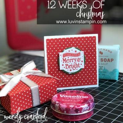 12 Weeks of Christmas Week 3 – Lip Gloss Gift Box