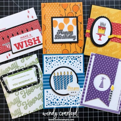 December Class To Go Birthday STAMP A STACK