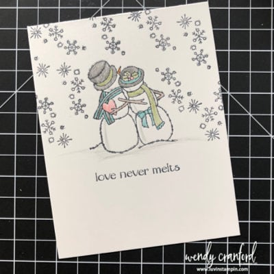 Simple Stamping with Spirited Snowman